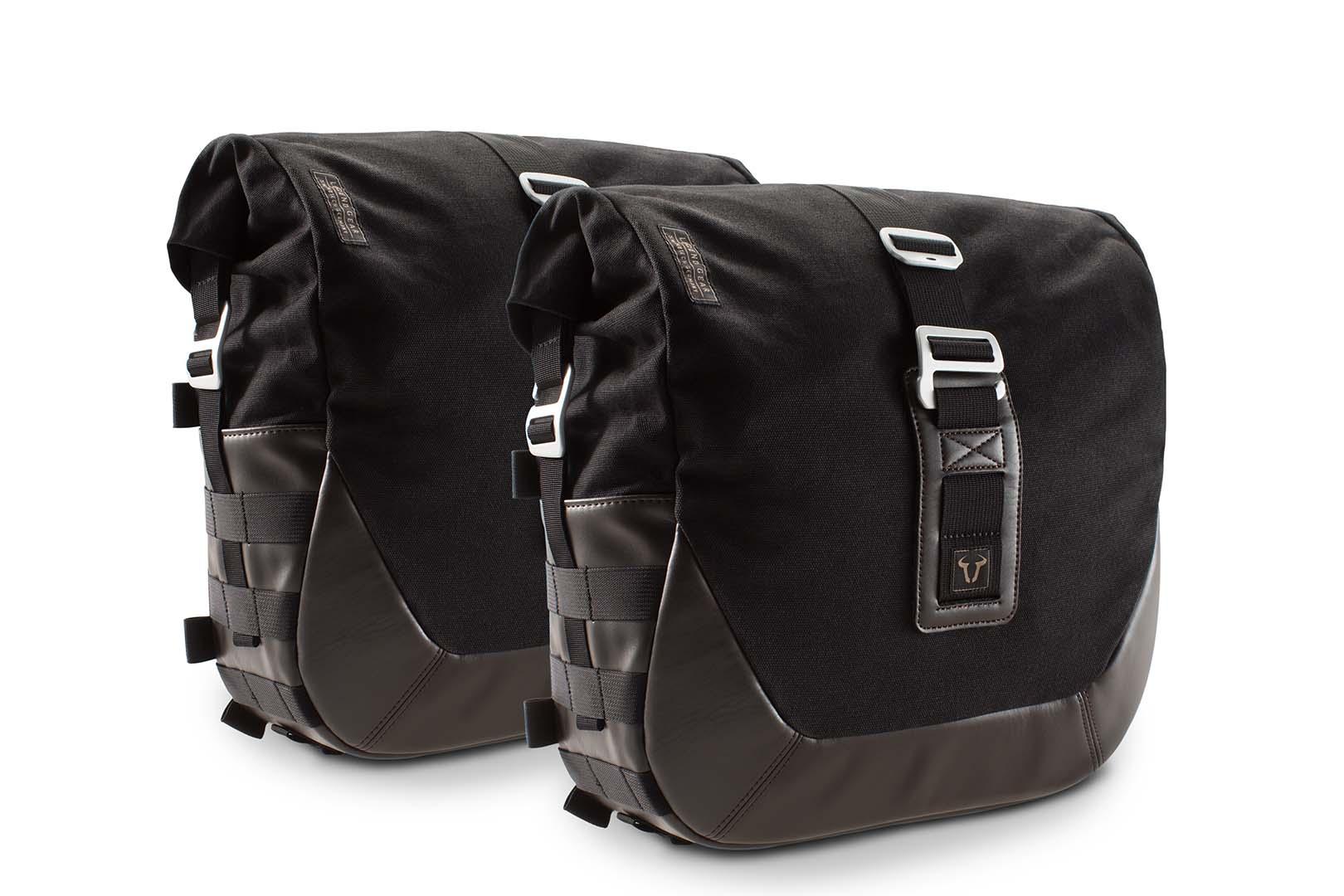 Legend Gear Side Bag Set. Triumph Bonneville / T100 (04-) / Thruxton