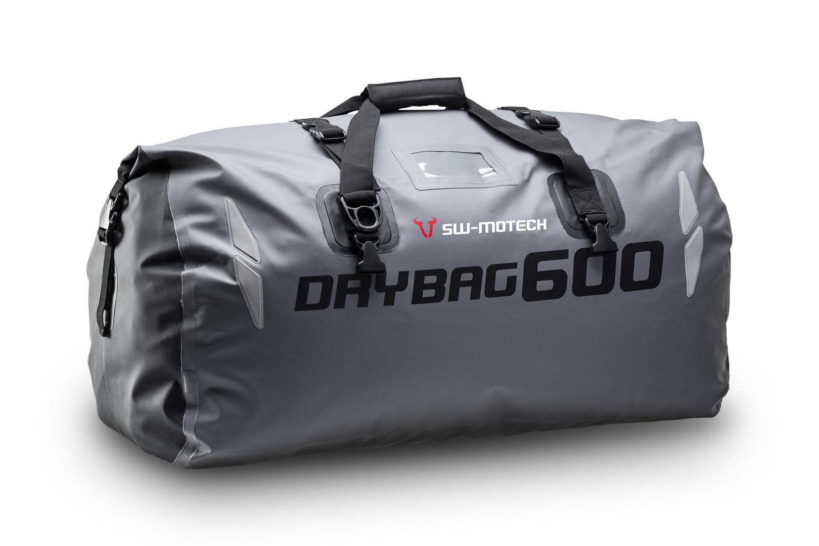 Bags-Connection Drybag 600, harmaa/musta