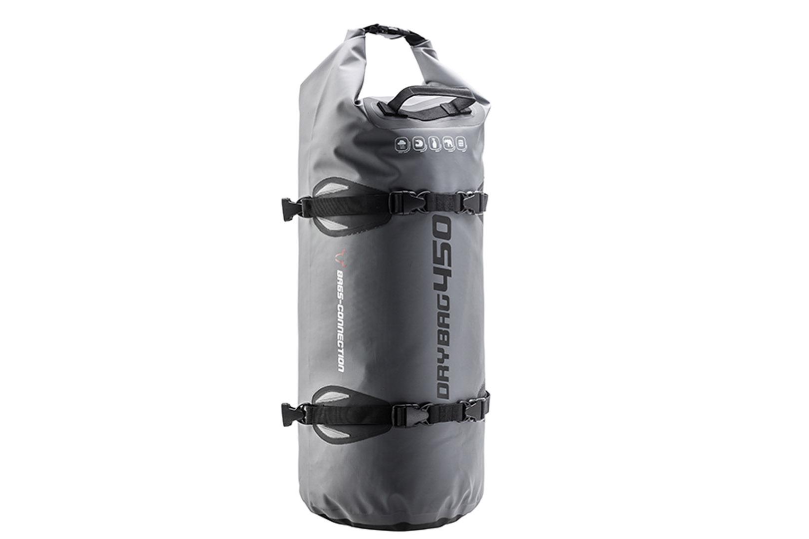 Bags-Connection Drybag 450, harmaa/musta
