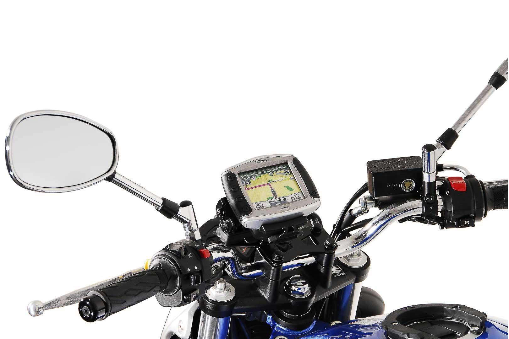 SW-Motech Suzuki SFV 650 Quick-Lock GPS-pidike