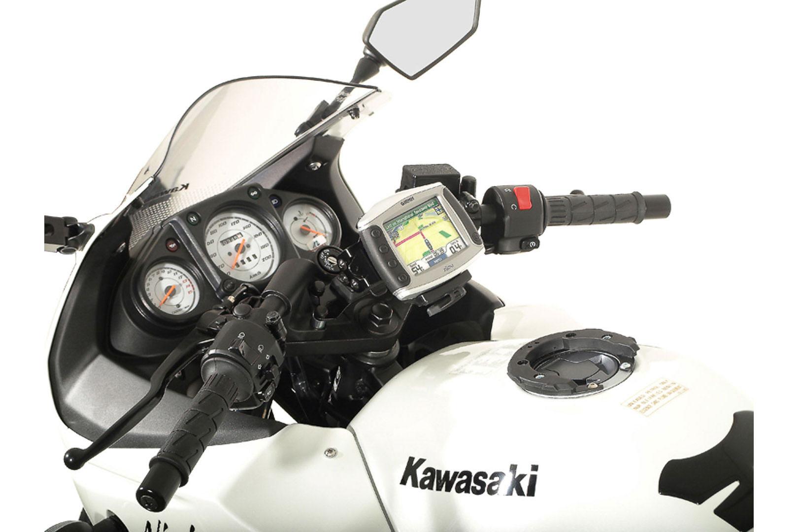 SW-Motech Quick-Lock GPS-pidike Ninja 250R