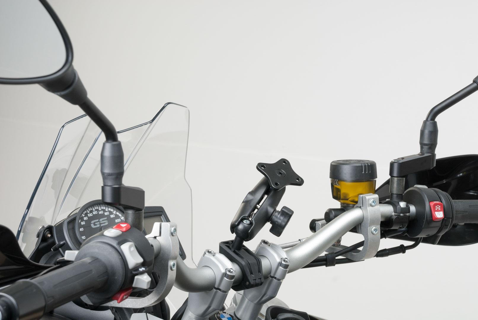 Universal GPS-mount ball -sarja ohjaustankoon, 22mm/28mm/1″