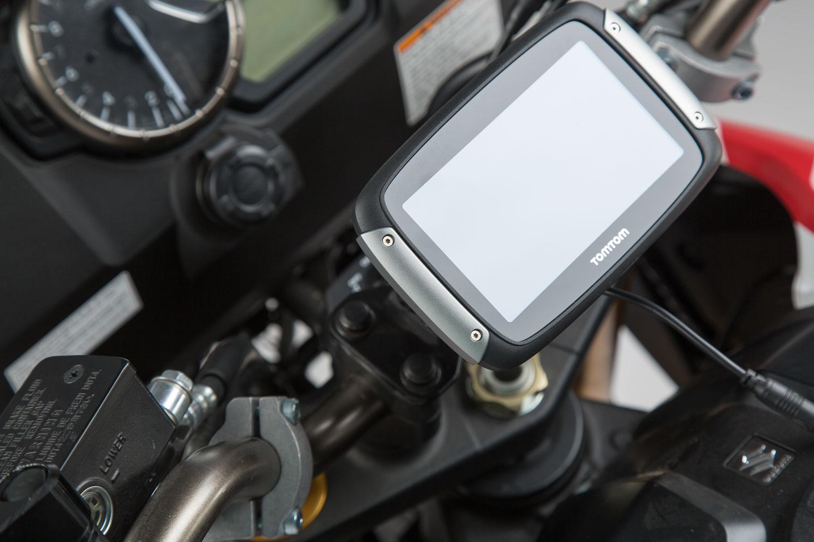 SW-Motech Vaimennettu GPS-pidike Suzuki DL1000/ V-Strom 14- musta