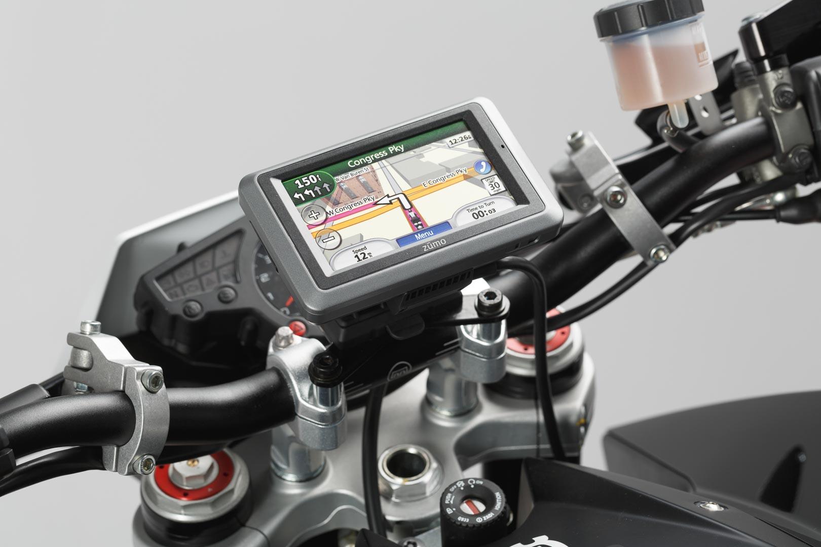 SW-Motech Quick-Lock GPS-pidike R1200RT