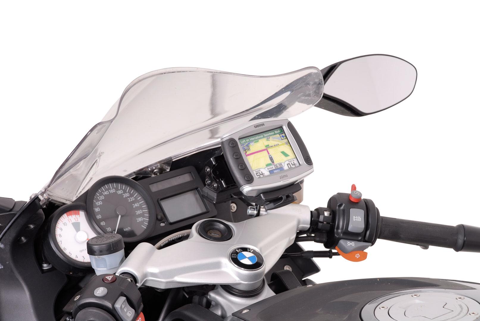SW-Motech Quick-Lock GPS-pidike BMW K1200S/K1300S/K1200R/K1300R