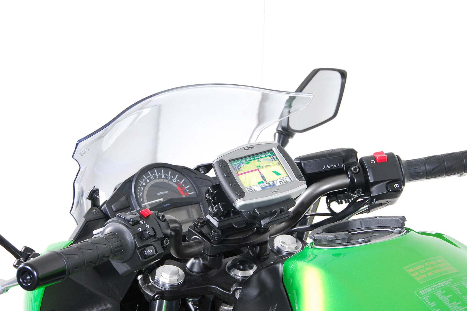 SW-Motech Quick-Lock GPS-pidike Kawasaki ER-6n/f