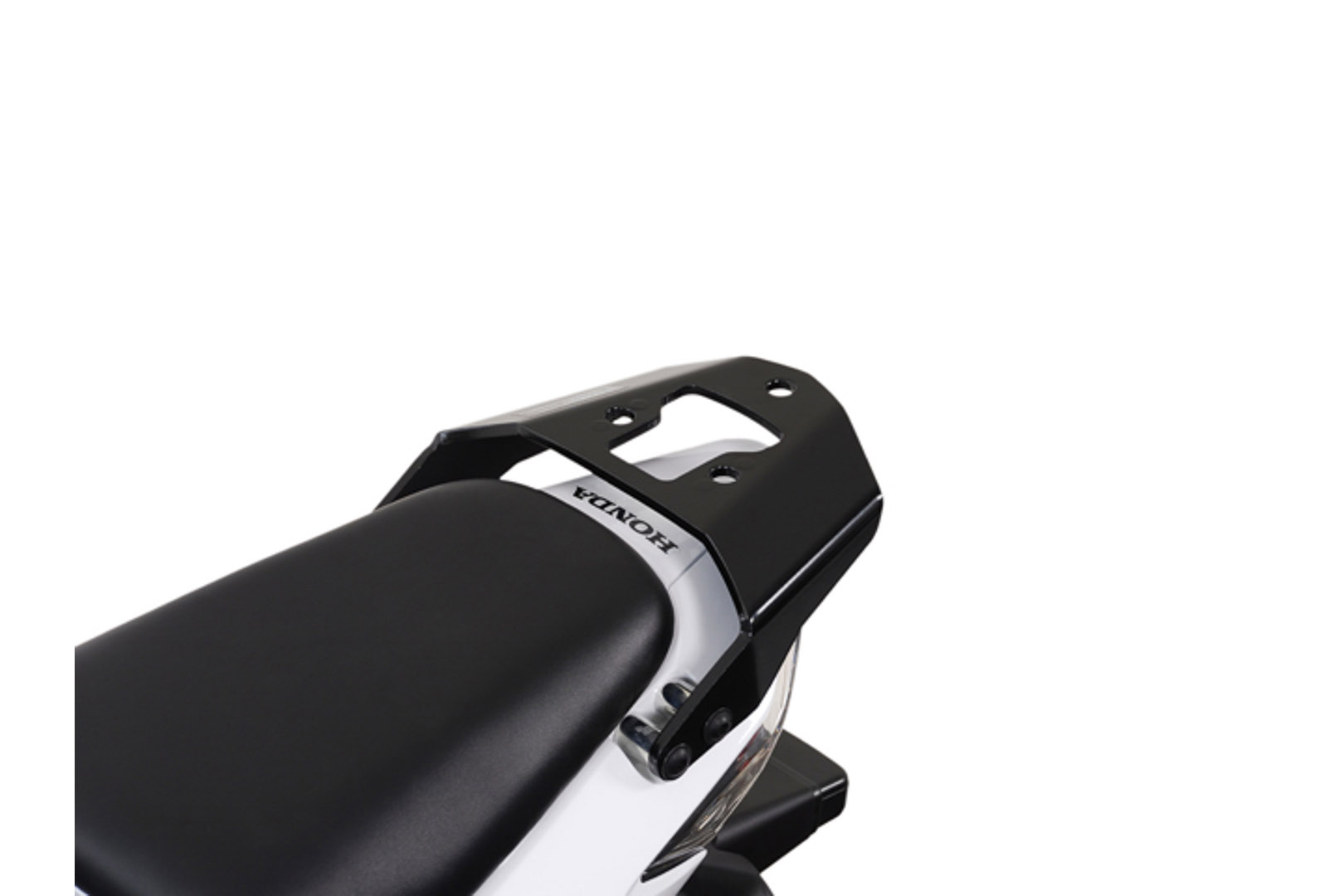 SW-Motech Alu-Rack peräteline Honda CBR125 musta