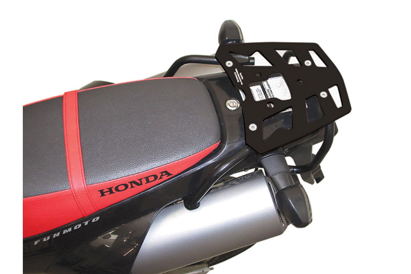 SW-Motech Alu-Rack peräteline Honda FMX650 musta