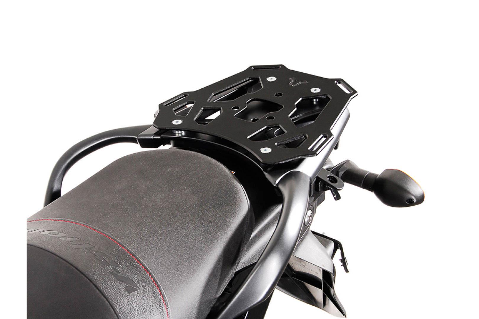 SW-Motech Alu-Rack peräteline Suzuki DL650 V-Strom 11- musta