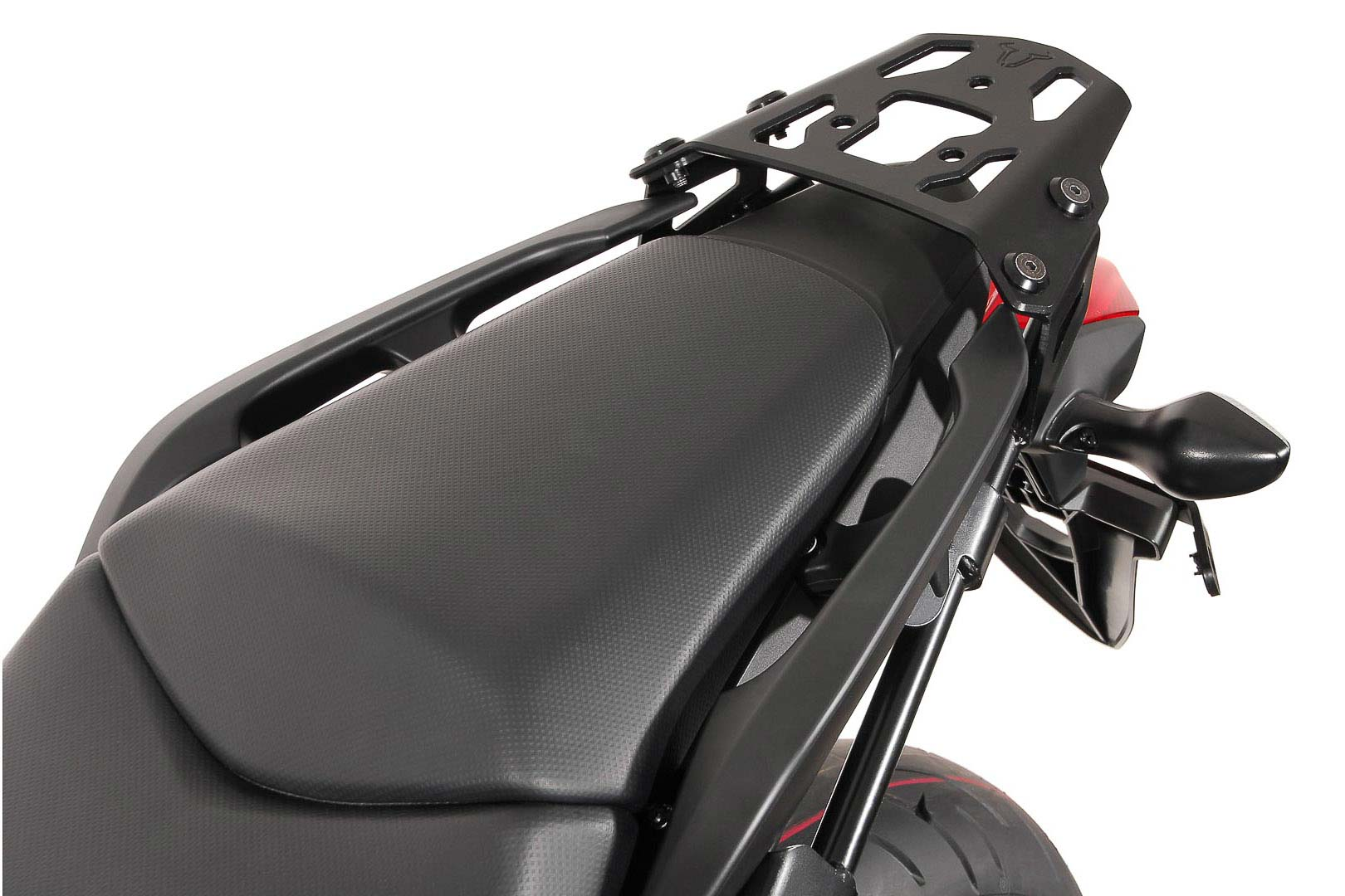 SW-Motech Alu-Rack peräteline Honda NC 750 X/XD 11- musta