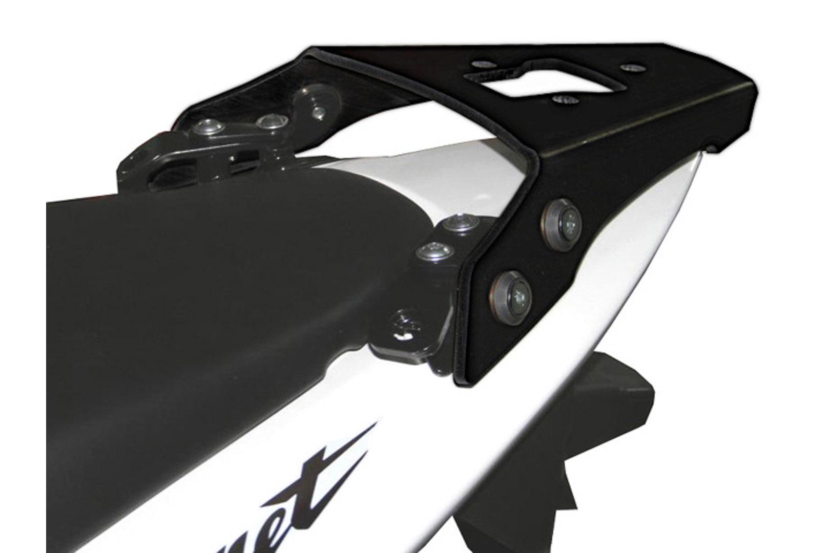 SW-Motech Alu-Rack peräteline Honda CB600 Hornet 98-06 musta