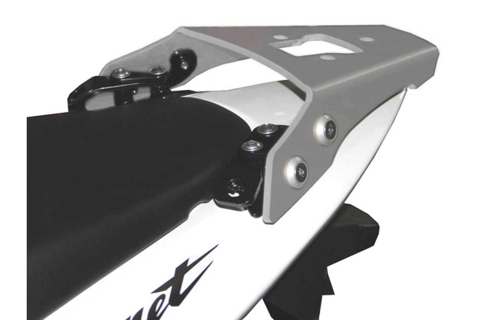 SW-Motech Alu-Rack peräteline Honda CB600 Hornet 98-06 hopea