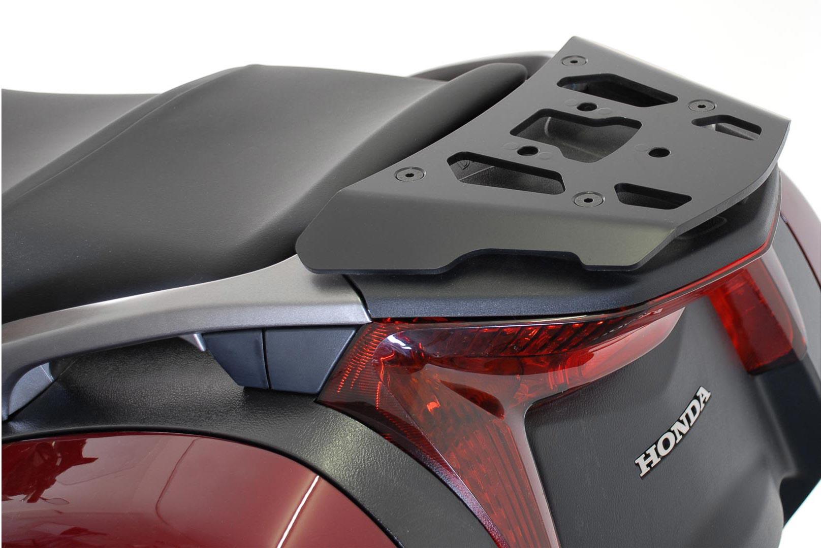 SW-Motech Alu-Rack peräteline Honda NT700V Deauville 06- musta