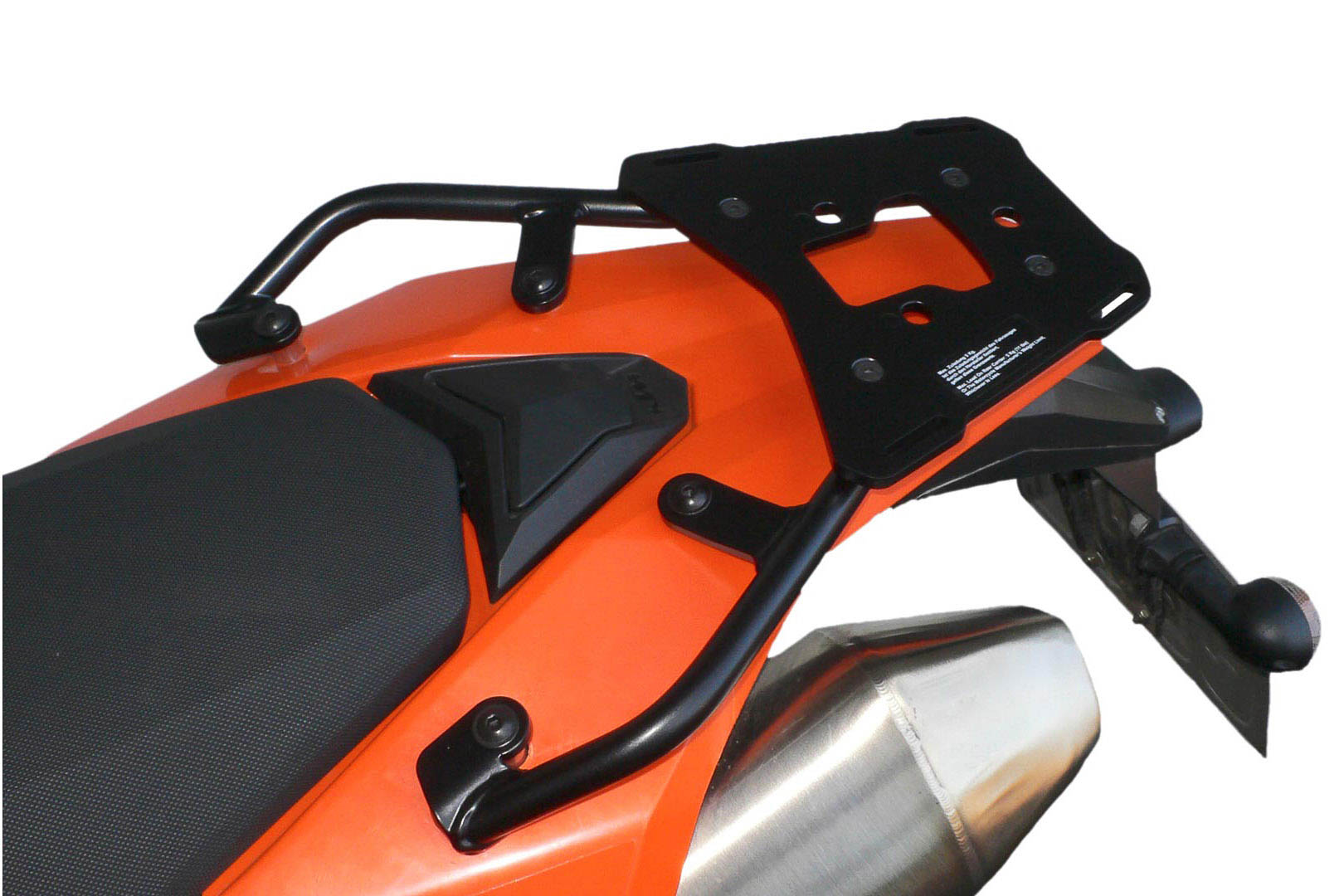SW-Motech Alu-Rack peräteline KTM LC4 690 Enduro musta