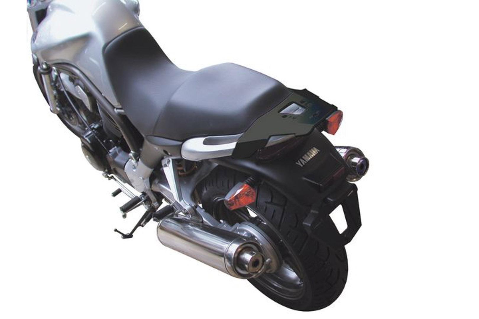 SW-Motech Alu-Rack peräteline Yamaha BT1100 Bulldog musta