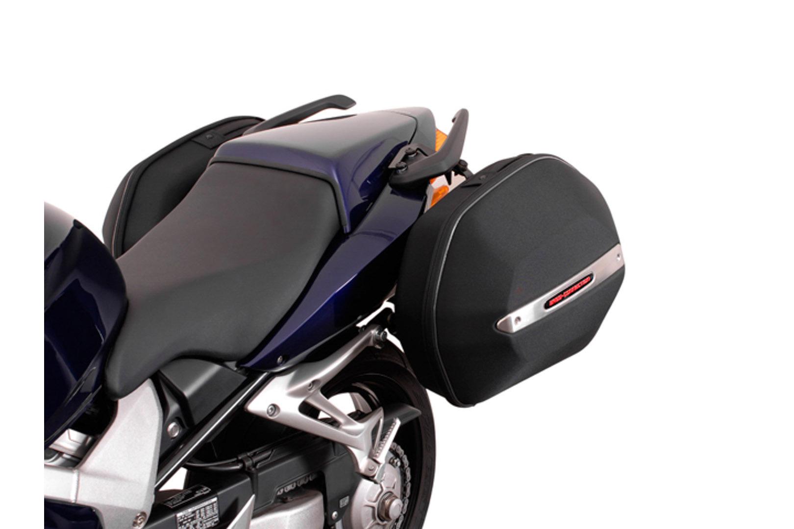 SW-Motech Quick-Lock EVO Sivutelinesarja. Honda VFR800 V-Tec 02-