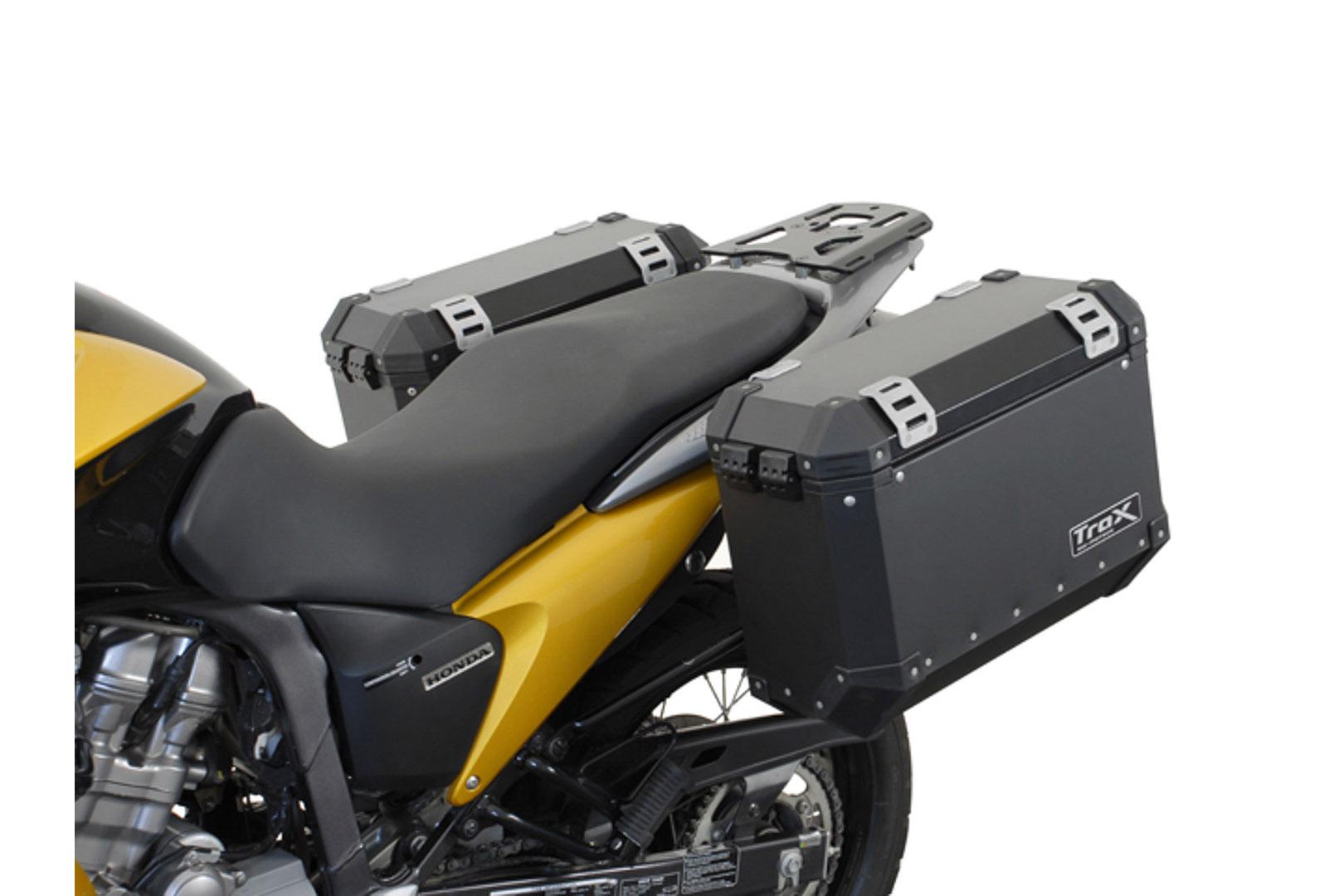 SW-Motech Quick-Lock Evo sivutelinesarja Honda XL700V Transalp