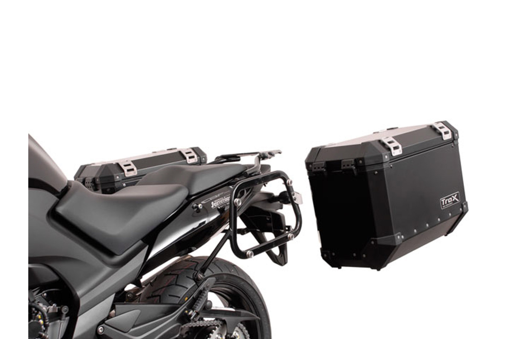 SW-Motech Quick-Lock EVO Sivutelinesarja. Honda CBF 1000 F (10-).