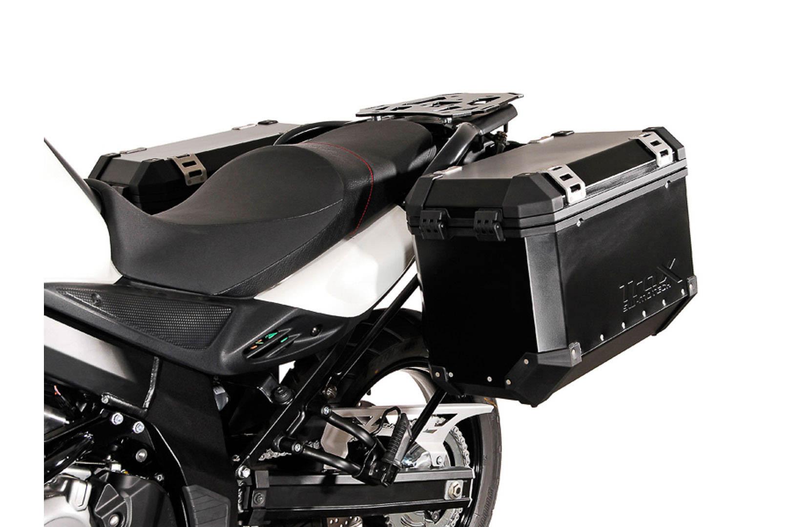 SW-Motech Quick-Lock Evo sivutelinesarja Suzuki DL650 V-Strom 11-