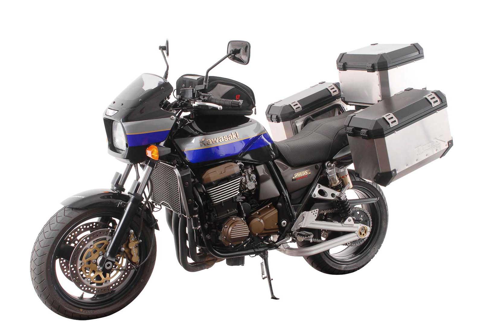 SW-Motech Quick-Lock Evo sivutelinesarja Kawasaki ZRX1100/ZRX1200S/ZRX1200R