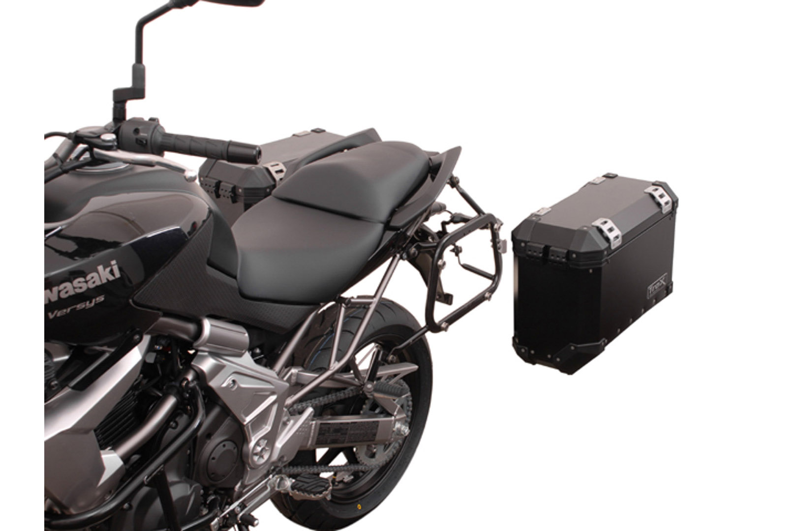 SW-Motech Quick-Lock EVO sivutelinesarja Kawasaki Versys 10-