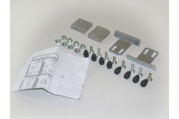 SW-Motech Quick-Lock kiinnikesarja Hepco & Becker muovilaukut