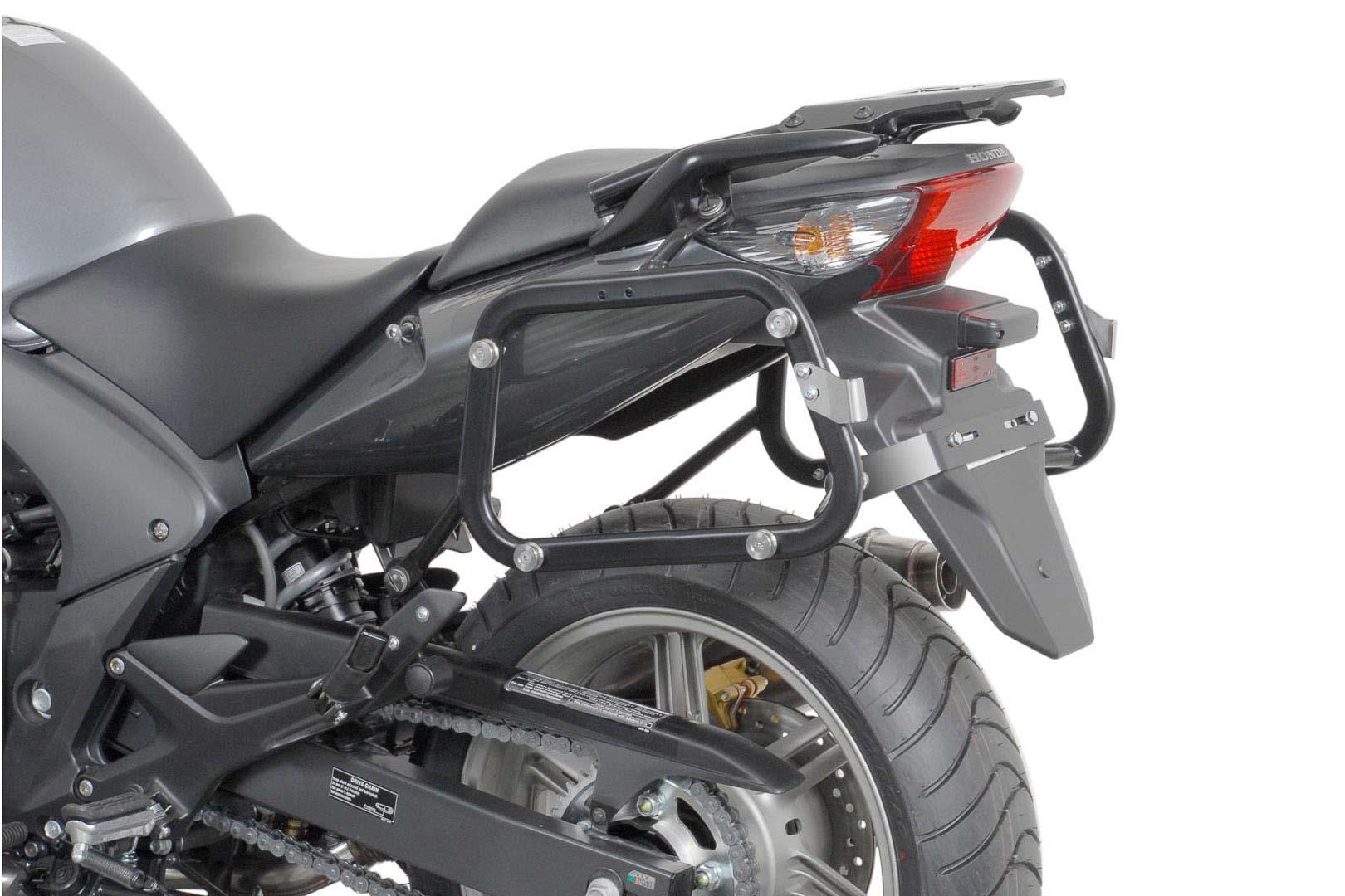 SW-Motech Quick-Lock Evo sivutelinesarja Honda CBF500/CBF600/CBF1000