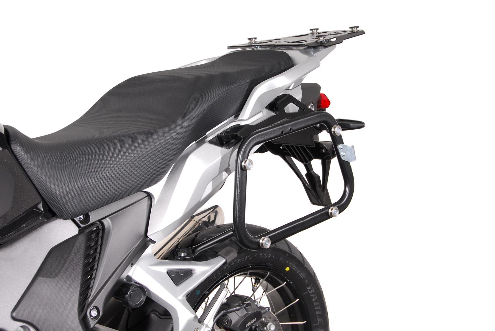 SW-Motech Quick-Lock EVO Sivutelinesarja. Honda VFR1200X Crosstourer