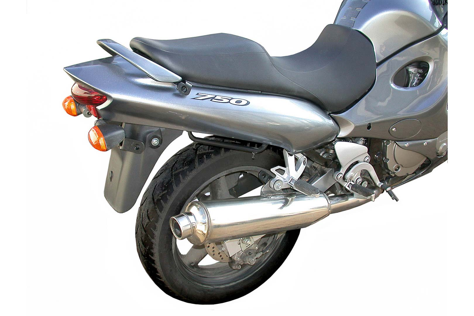 SW-Motech Quick-Lock Evo sivutelinesarja Suzuki GSX750F 03-06