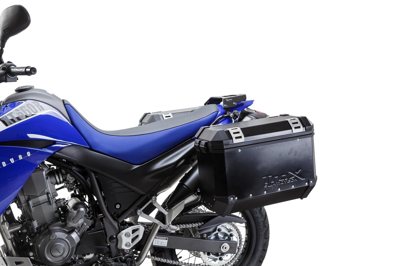 SW-Motech Quick-Lock Evo sivutelinesarja Yamaha XT660