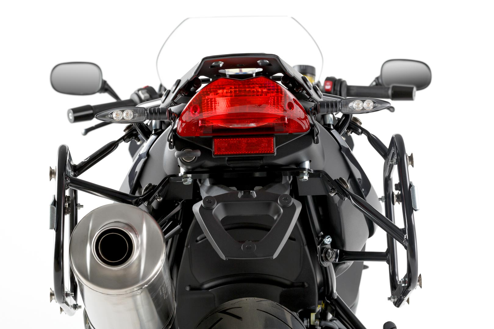 SW-Motech Quick-Lock Evo sivutelinesarja BMW F800R 09-