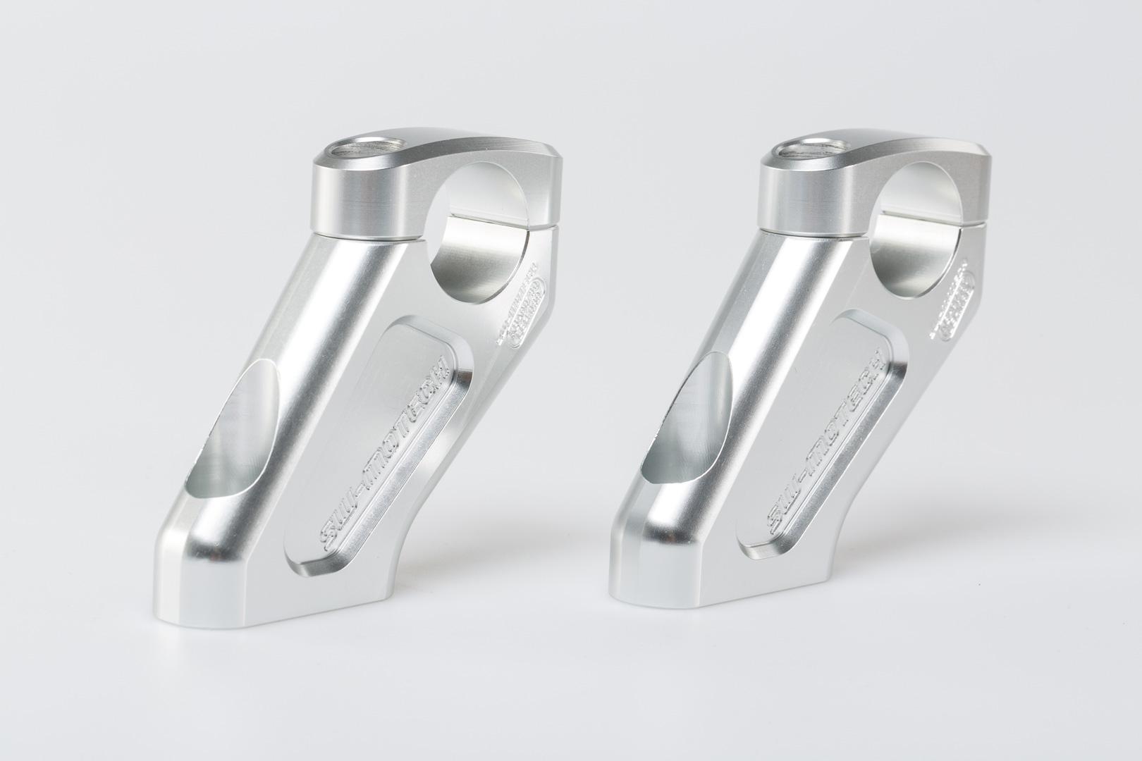 Barback tangonkiinnike, korotus 20 mm, siirto taakse 30 mm, hopea R1200GS 08-
