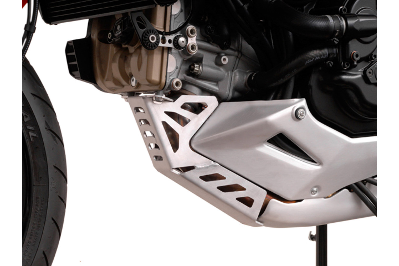 SW-Motech Pohjapanssari Ducati Multistrada 1200 10-, hopea