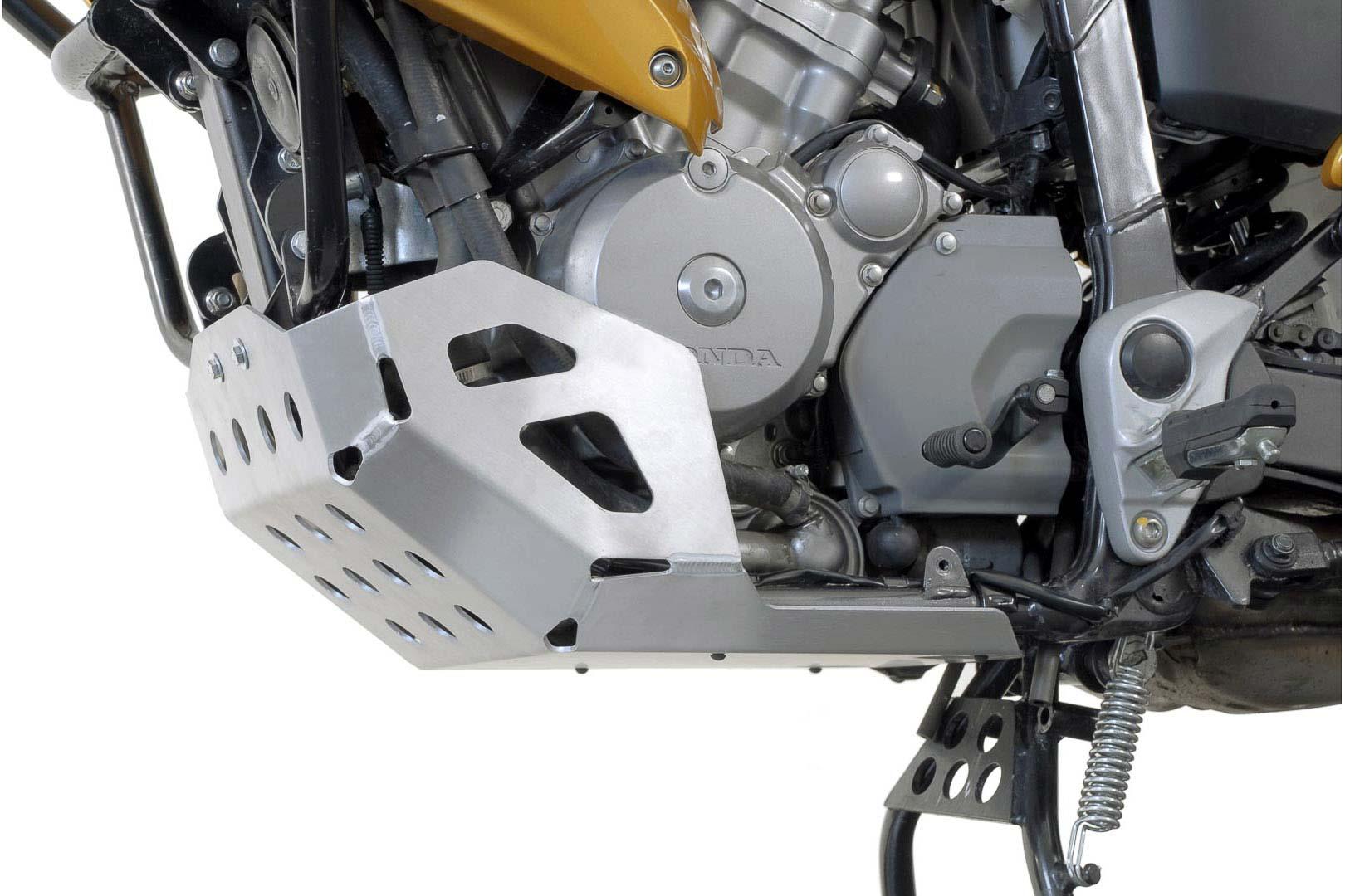 SW-Motech Pohjapanssari Honda XL700V Transalp hopea