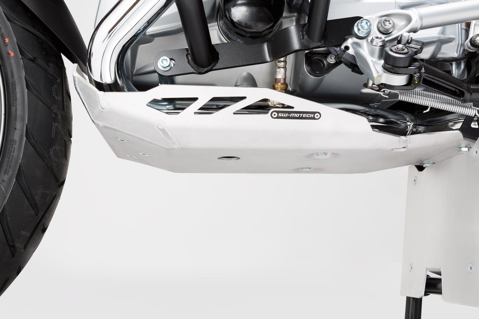 Pohjapanssari, hopea, BMW R1200 GSLC / Adventure (12-), Rallye