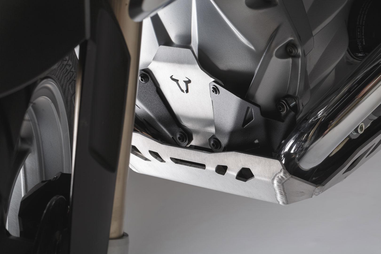 Moottorinsuojaraudan jatko BMW R1200GS LC / Adventure musta/hopea