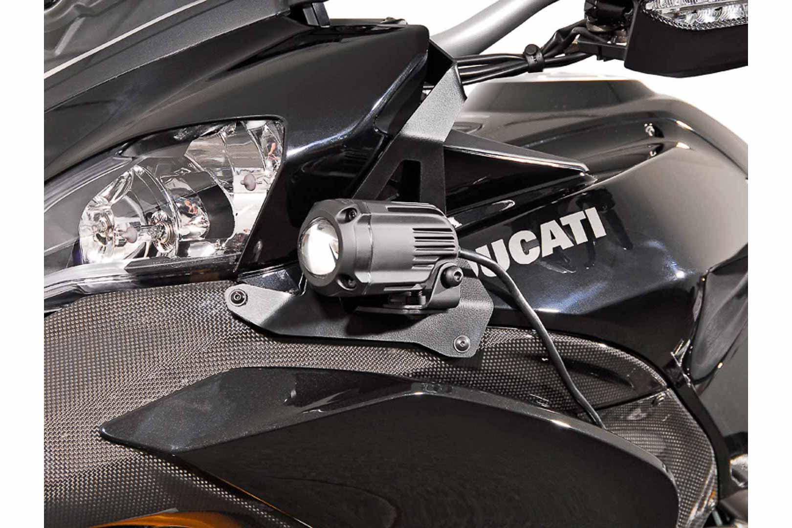 SW-Motech HAWK-lisävalosarjan kiinnike, Ducati Multistrada 1200 10-