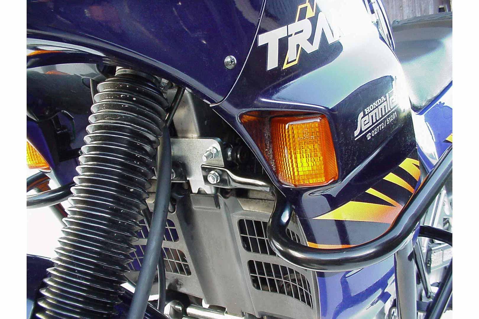SW-Motech Moottorinsuojarauta Honda XL600V Transalp -99 musta