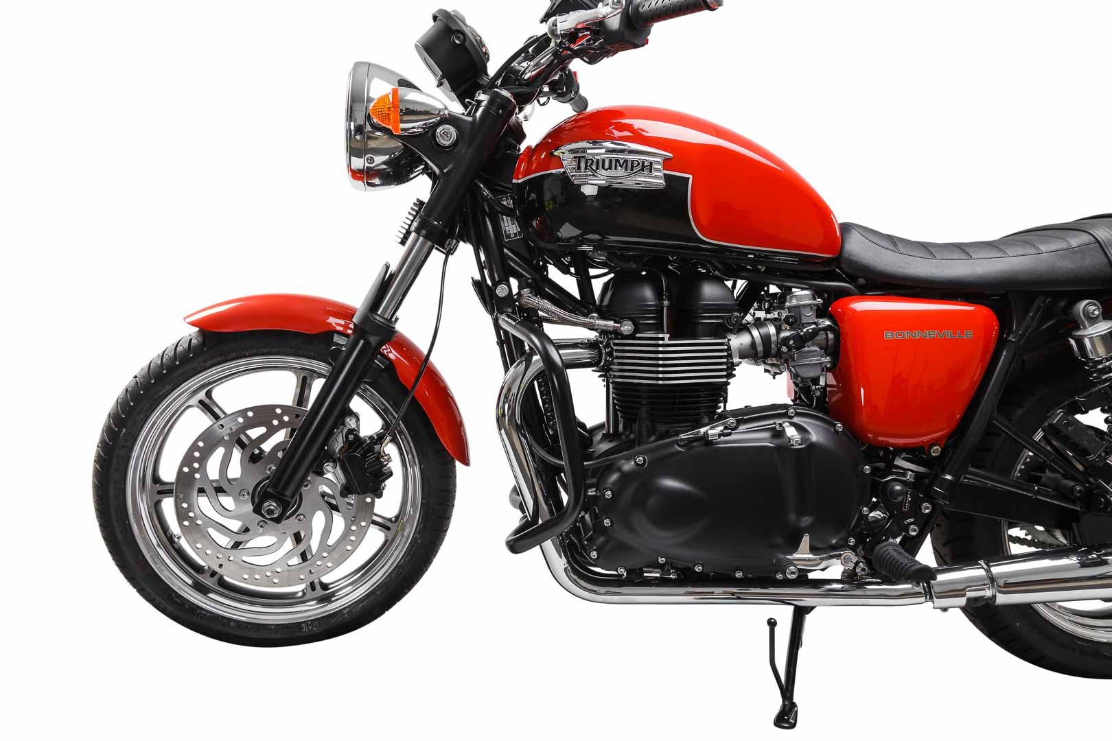 Moottorinsuojarauta Triumph Thruxton, Bonneville