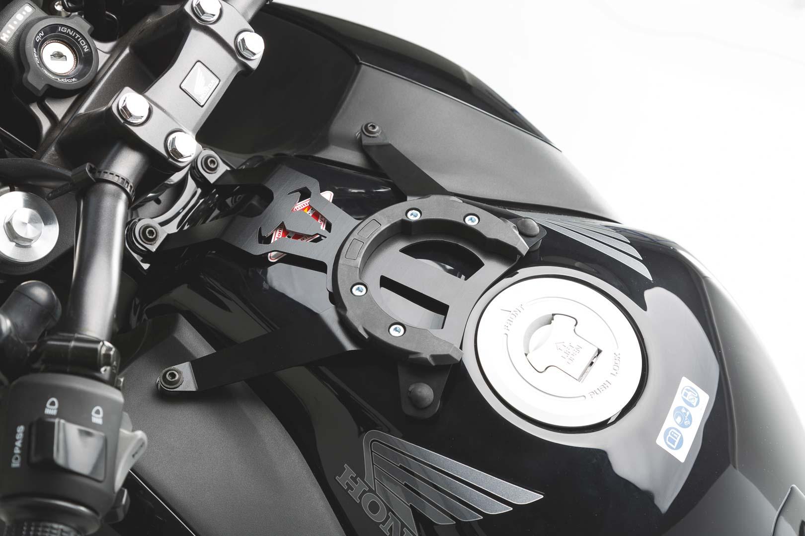 EVO tank ring. Black. Honda CB 500 F (13-16)