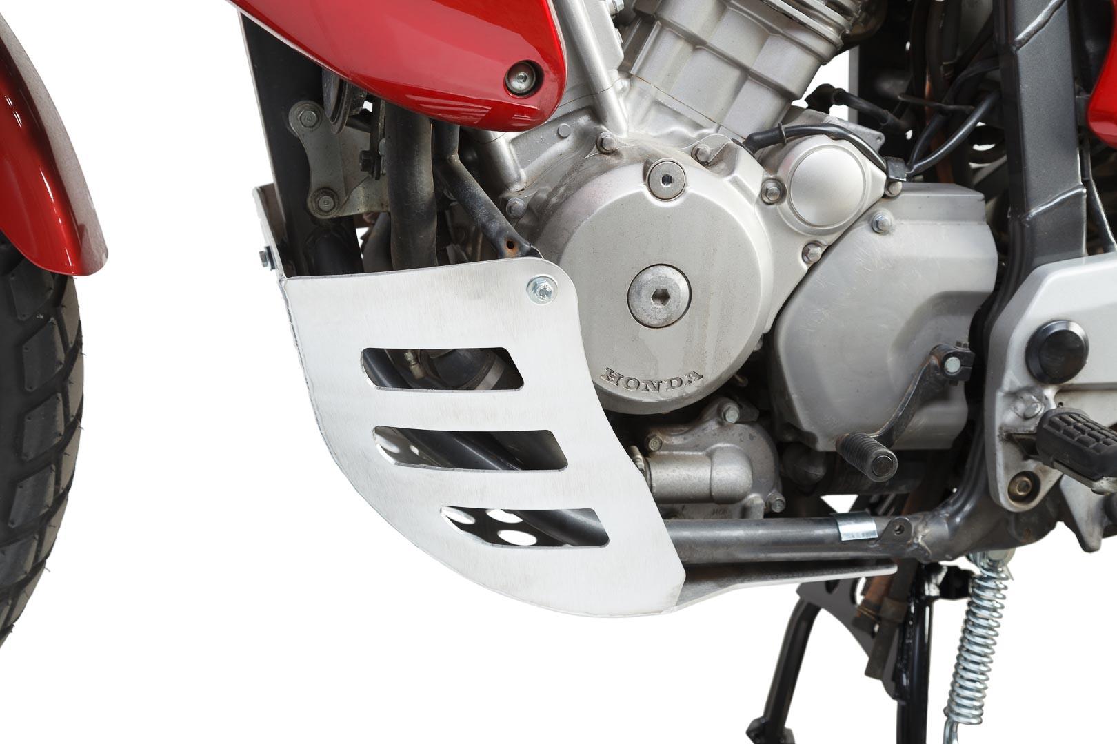SW-Motech Pohjapanssari Honda XL650V Transalp hopea