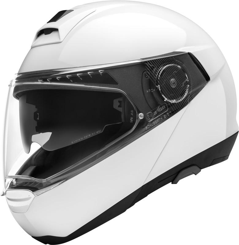 Schuberth C4 Pro valkoinen