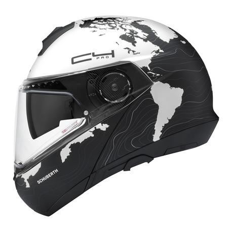Schuberth C4 Pro Magnitudo valkoinen