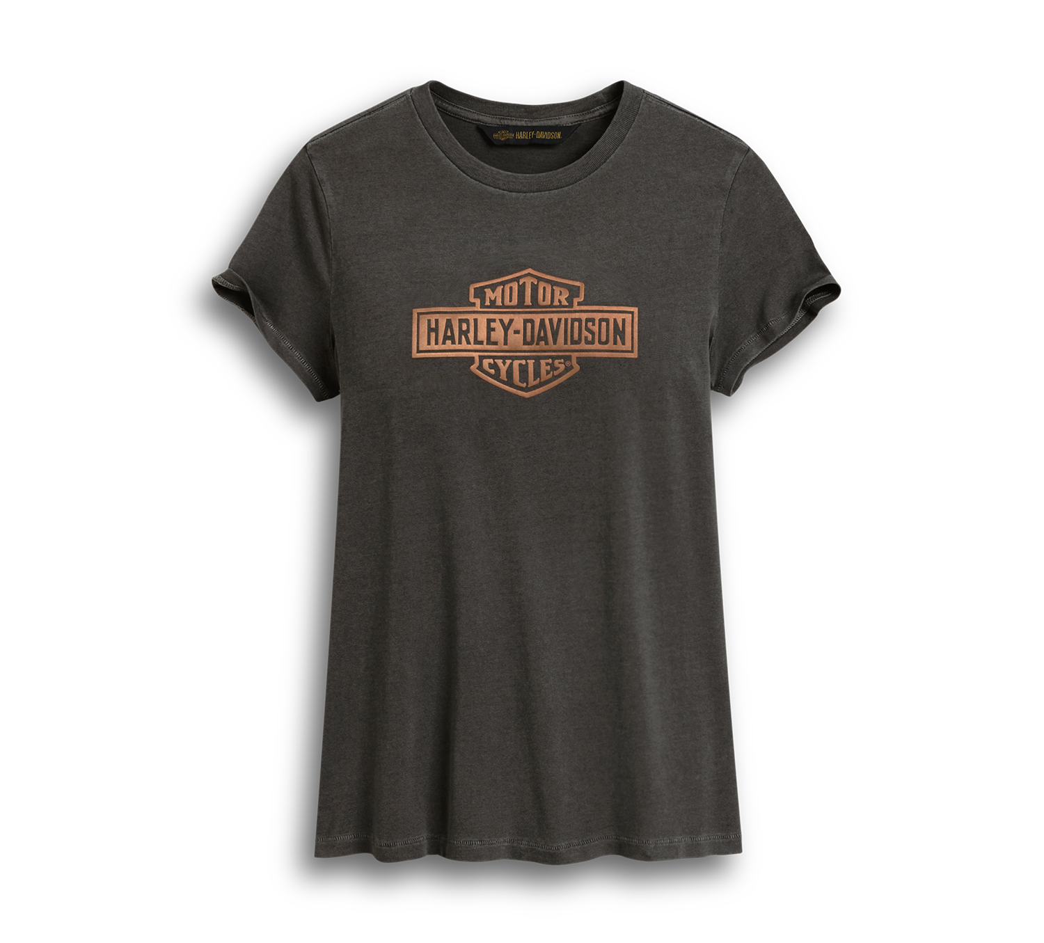 Harley-Davidson Women's Metallic Logo Graphic Tee
