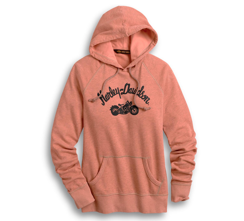 Harley-Davidson Women's Embroidered Script Pullover Hoodie