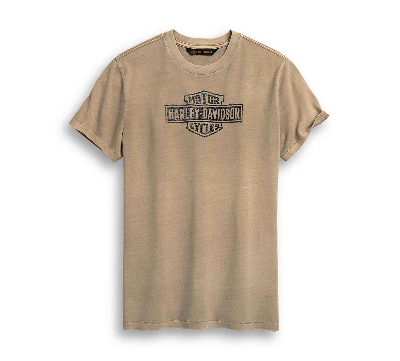 Harley-Davidson Men's Distressed Print Logo Tee