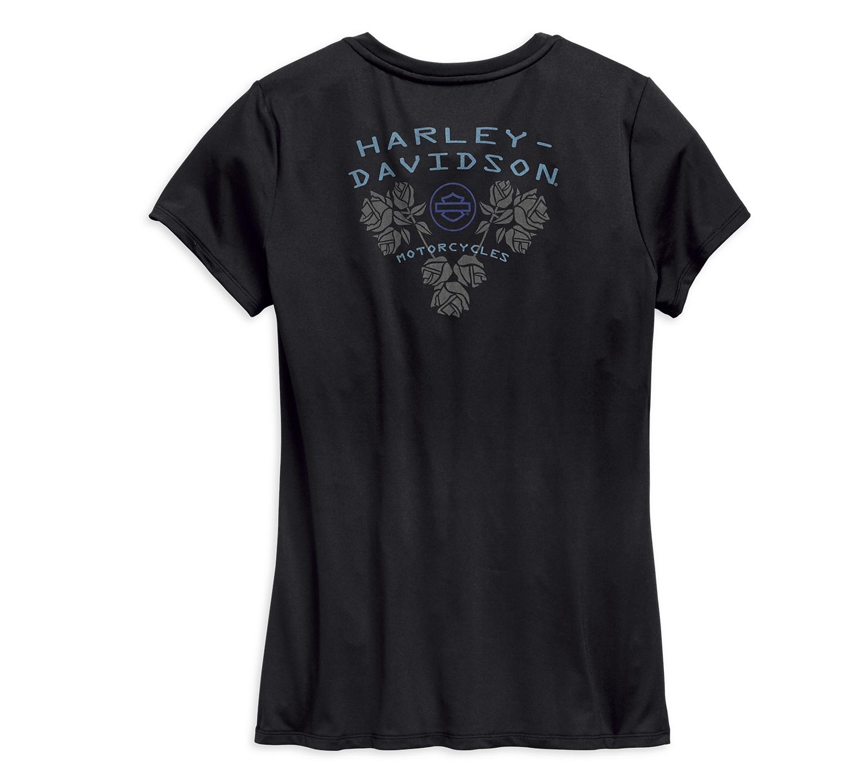 Harley-Davidson Women's Camo Mesh Tee