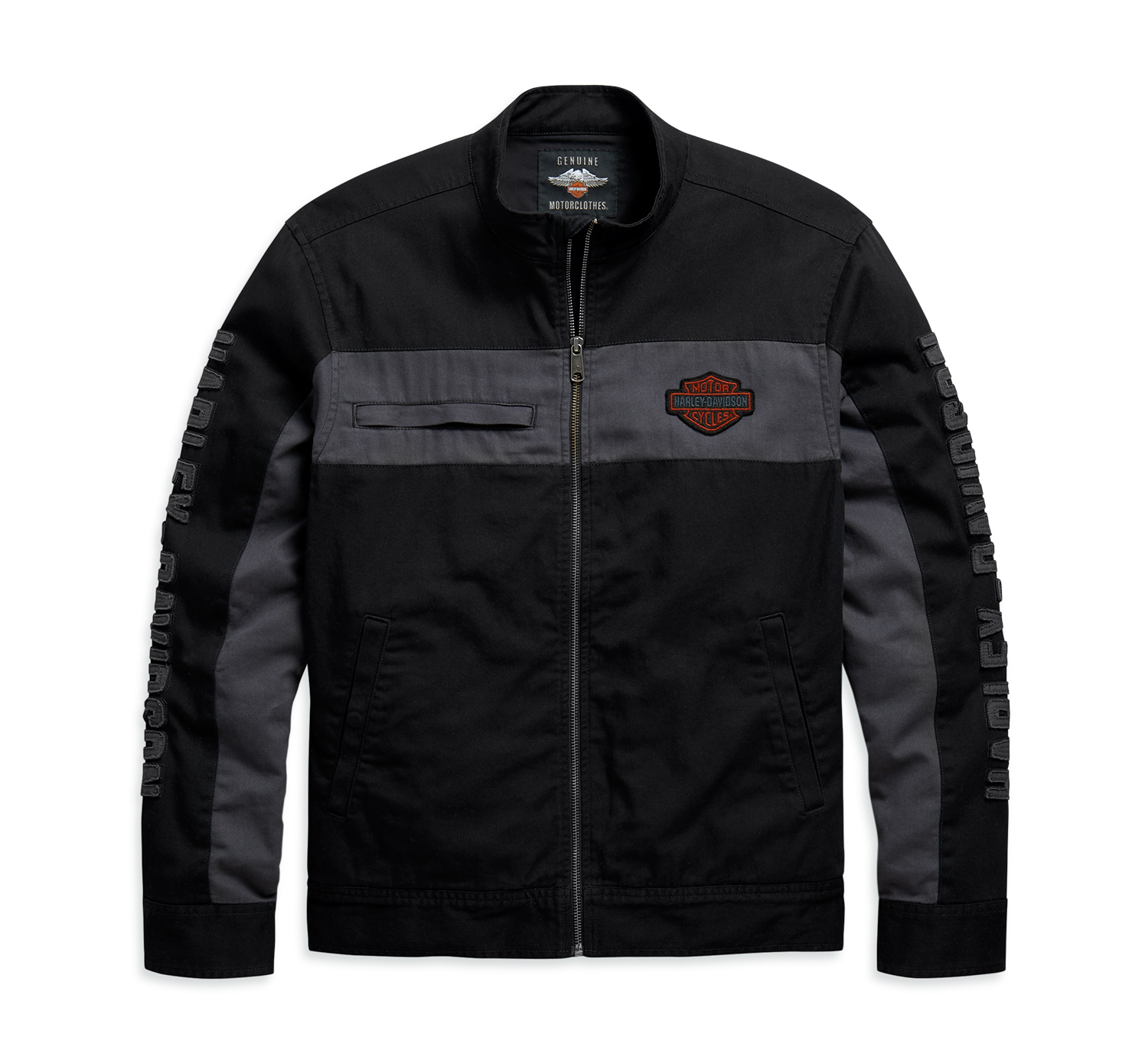 Harley-Davidson Men's Copperblock Canvas Jacket