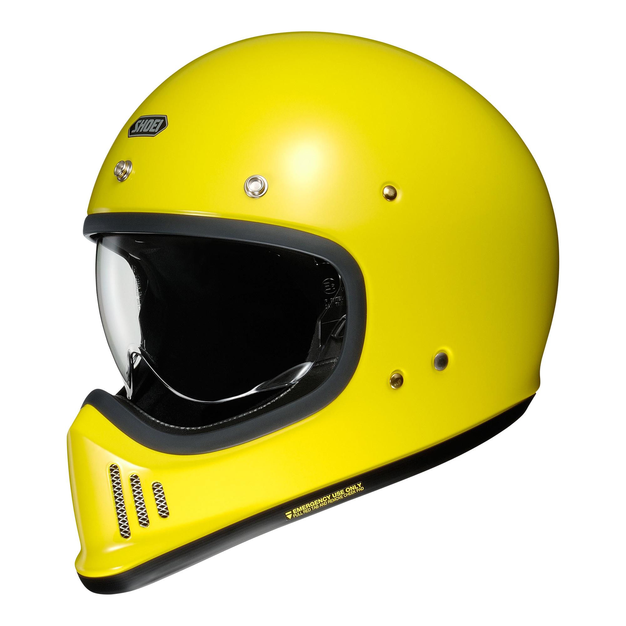 Shoei EX-Zero br.yellow