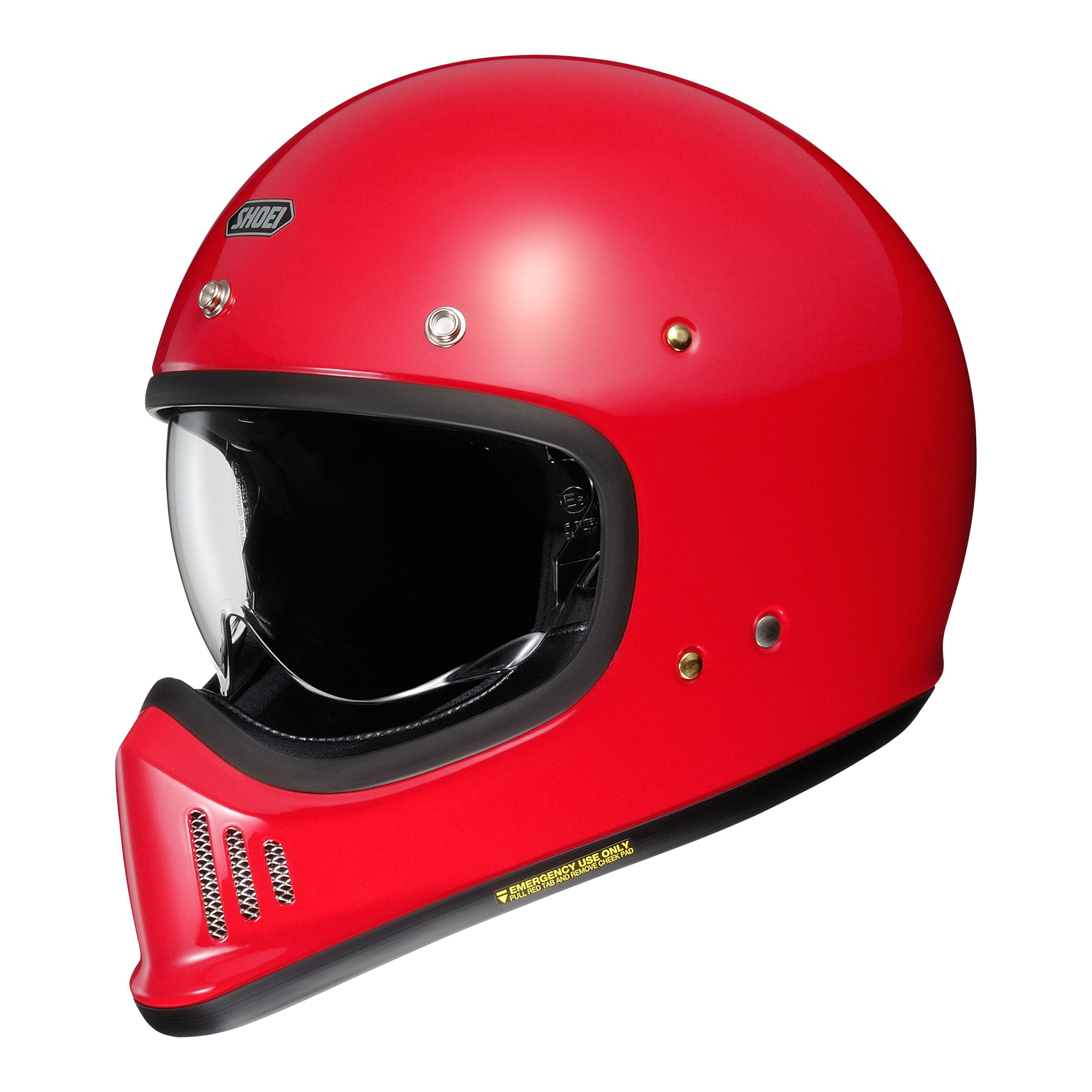 Shoei EX-Zero shine red